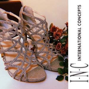 Influential. 💎 | i.n.c Womens Sharee Bridal heels